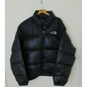 Vintage North Face XXL 700 Puffer Jacket Black